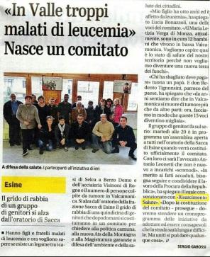 articolo giornale di brescia 2.0